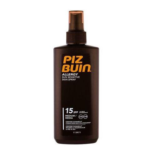 PIZ BUIN Allergy Sun Sensitive Skin Spray SPF15 preparat do opalania ciała 200 ml dla kobiet