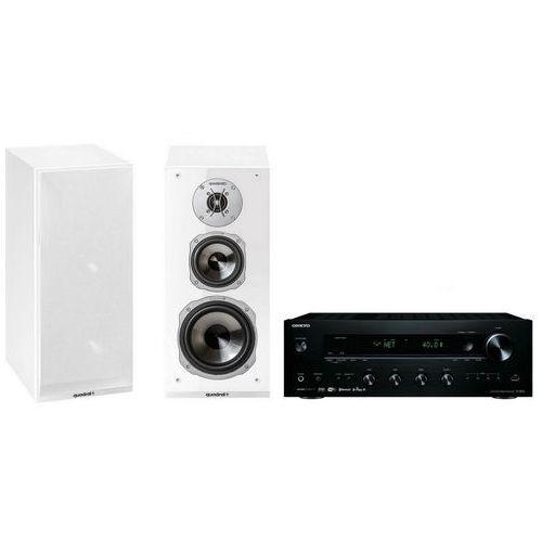 Zestaw stereo tx-8250b + quadral argentum 530 biały marki Onkyo