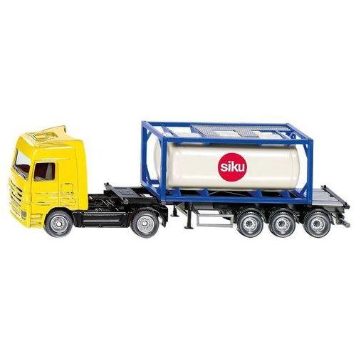 Siku, ciężarówka z kontenerem - Trefl (4006874017959)