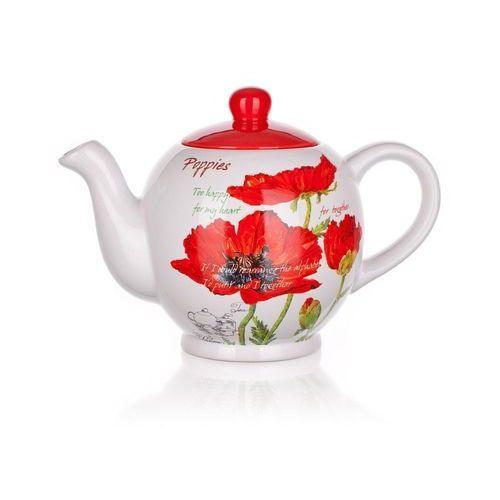 Banquet Ceramiczny czajnik RED POPPY 1200 ml (8591022333082)