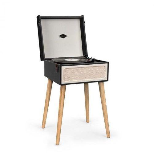 Auna Sarah Ann gramofon Bluetooth USB 33,45 i 78 rpm czarny/kremowy