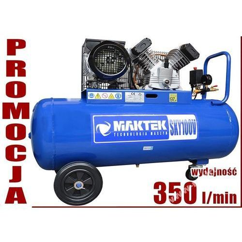 Maktek Sprężarka tłokowa kompresor tłokowy olejowy  sky 100 v2