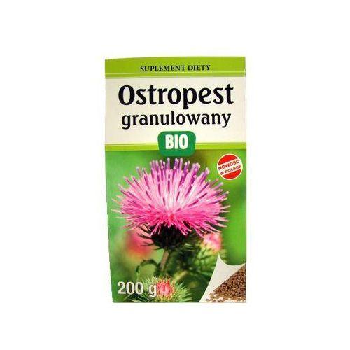 Look food (ostropest, sok z pokrzywy) Ostropest plamisty granulowany bio 200 g - look food (5903111808082)