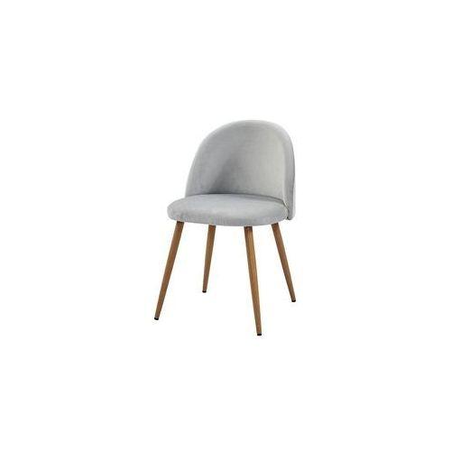 Atreve Krzesło song plaster miodu/ srebrny/ noga dąb