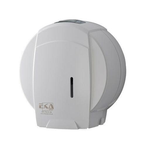 Pojemnik na papier toaletowy jumbo EKAplast biały