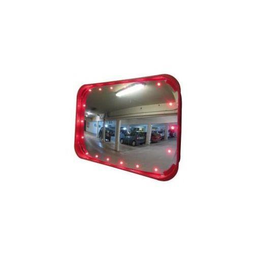 Lustro garażowe LED z czujnikiem ruchu