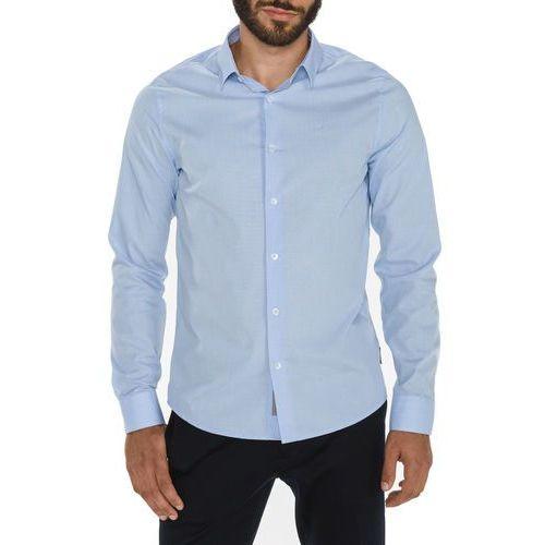 Calvin Klein Bari Koszula Niebieski XL (8719113274919)