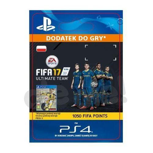 Sony Fifa 17 1050 punktów [kod aktywacyjny] (0000006200037)