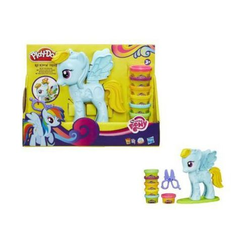 Hasbro Playdoh salon fryzjerski rainbow (5010994915469)
