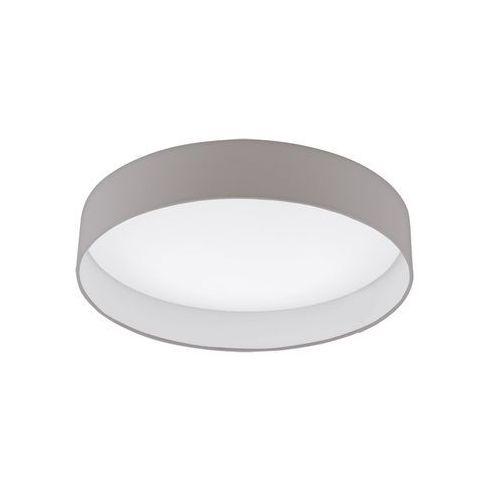 Plafon Eglo Palomaro 93952 lampa oprawa sufitowa 1x24W LED biały/szary, kolor szary,
