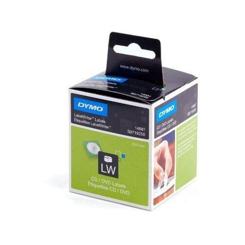 etykiety termoczułe na cd / dvd krążek 14681, s0719250 marki Dymo