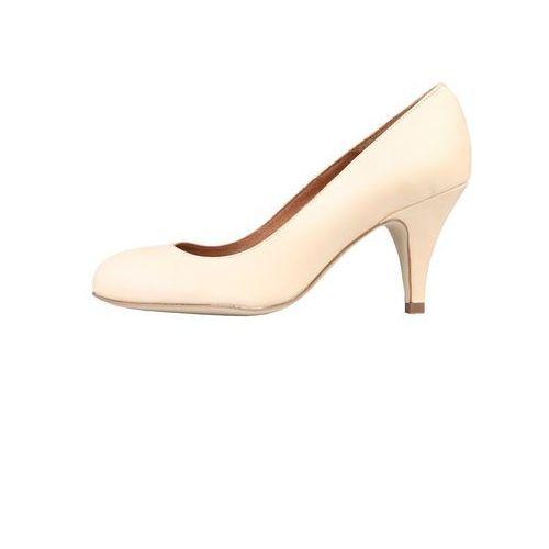 Buty damskie czółenka 7181101_charme kremowe marki Arnaldo toscani