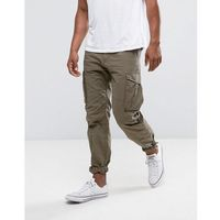 intelligence cargo trouser in ripstop fabric - green, Jack & jones
