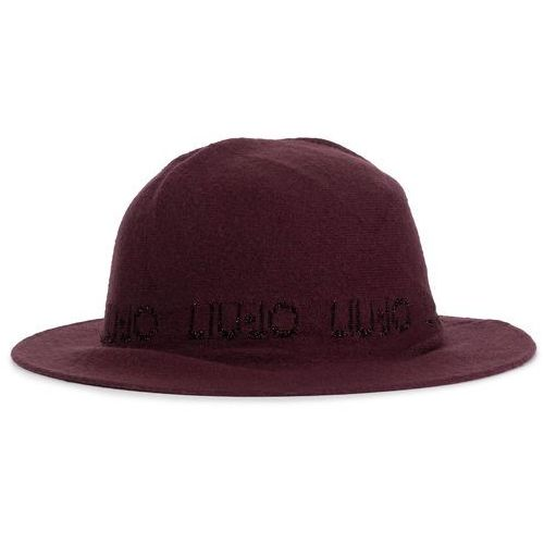 Kapelusz LIU JO - Cappello Tesa Larga 269092 M0300 Dark Red 91530