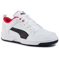 Sneakersy PUMA - Rebound Layup Lo Sl 369866 01 White/Black/High Risk Red