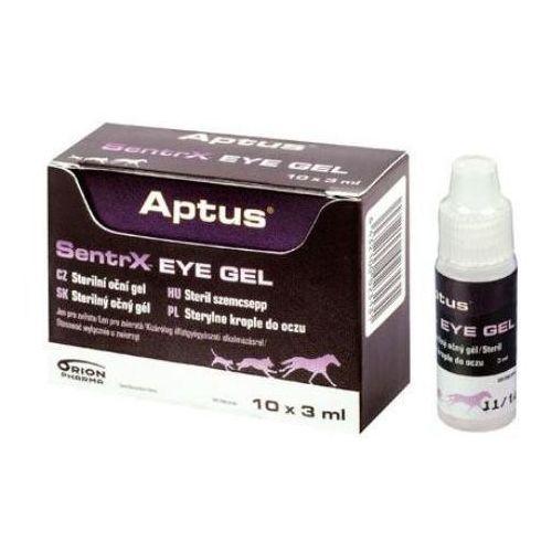 aptus sentrx eye gel - krople do oczu dla psa, kota i in.zwierząt fiolka x 3ml marki Orion pharma