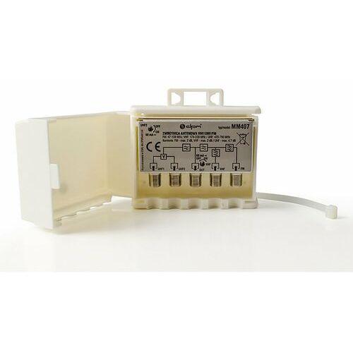 Zwrotnica antenowa mm407 vhf/uhf/fm marki Dpm solid