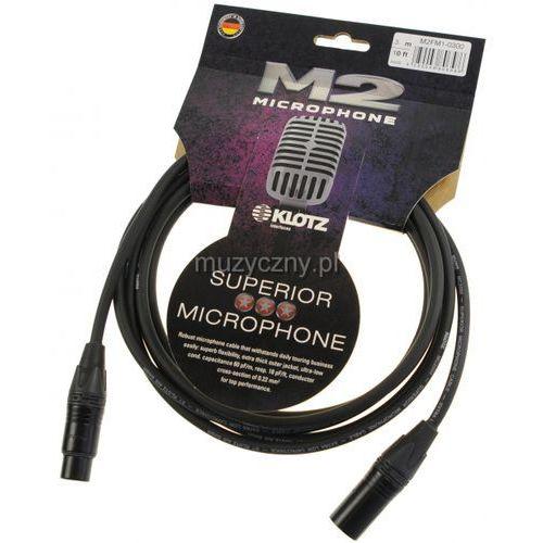 Klotz M2FM1 0300 przewód mikrofonowy XLR-F - XLR-M 3m