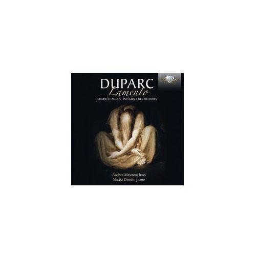 Brilliant classics Duparc: lamento, complete songs - dostawa 0 zł