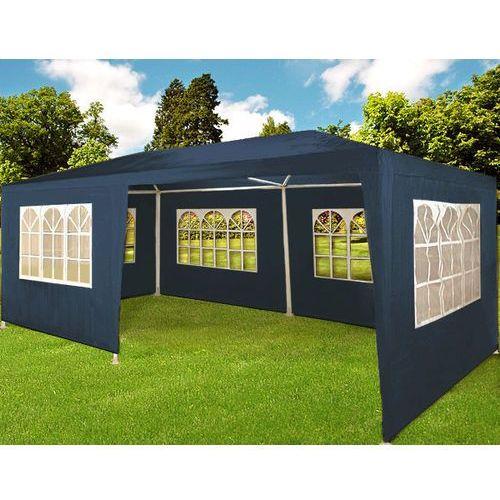 Pawilon ogrodowy handlowy 3x6 namiot niebieski - niebieski marki Wideshop