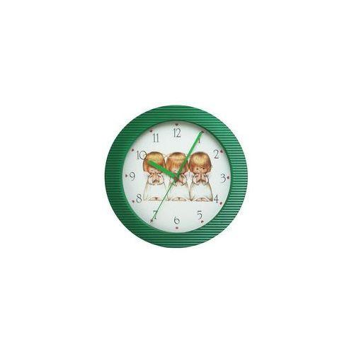 Zegar naścienny kolor aniołki marki Atrix