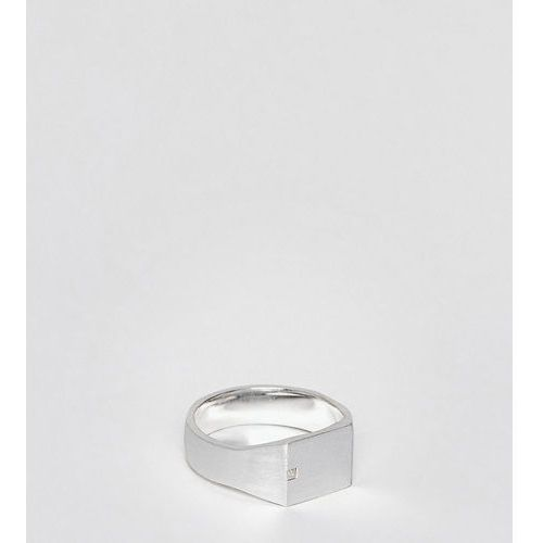 Seven London sterling silver signet ring - Silver