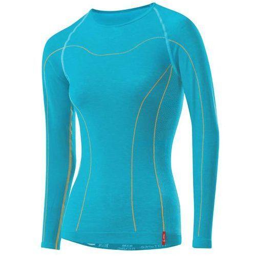 Bielizna termoaktywna transtex warm seamless long sleeve niebieski/jasny 36/38 marki Löffler