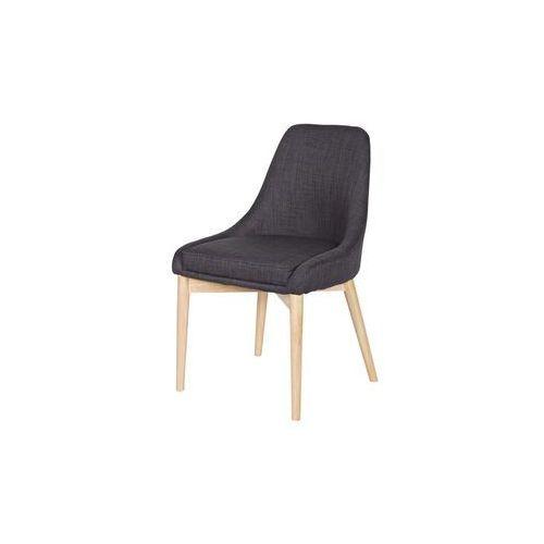 WOOOD:: Krzesło KOBE ciemnoszare, kolor szary
