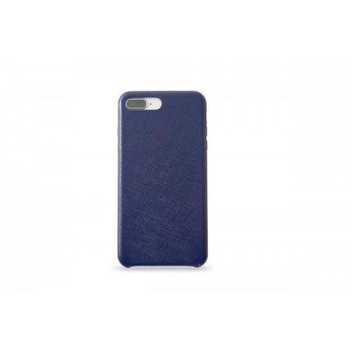 KMP Leather Case do iPhone 7 Plus/8 Plus skórzane niebieskie >> BOGATA OFERTA - SZYBKA WYSYŁKA - PROMOCJE - DARMOWY TRANSPORT OD 99 ZŁ!, kolor niebieski