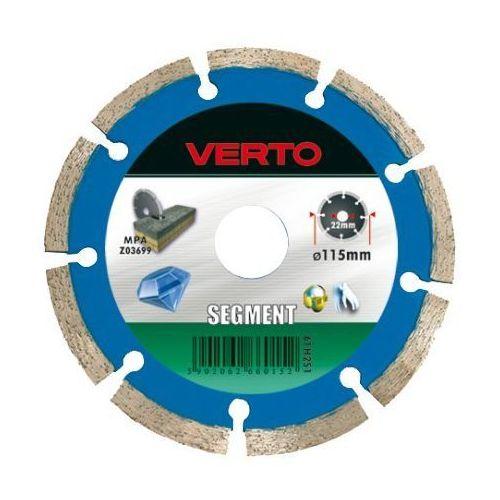 Tarcza do cięcia 61h2s8 180 x 22.2 mm diamentowa segmentowa marki Verto