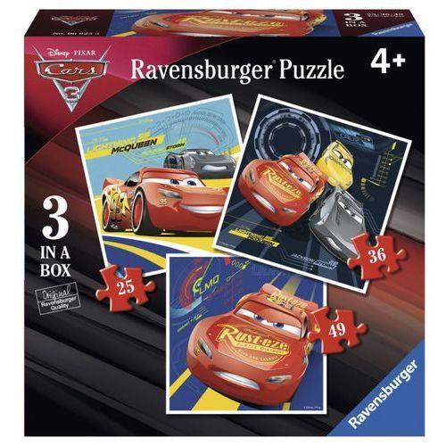 Tm toys Puzzle auta 3 porywajacy wyścig 3 w 1