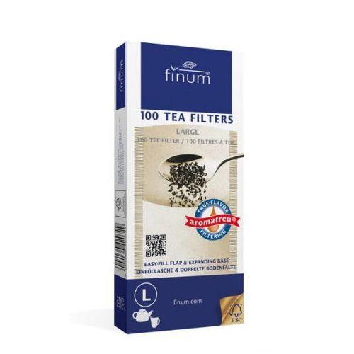 Finum filtry do herbaty l 100 szt. brązowe (4004060420675)
