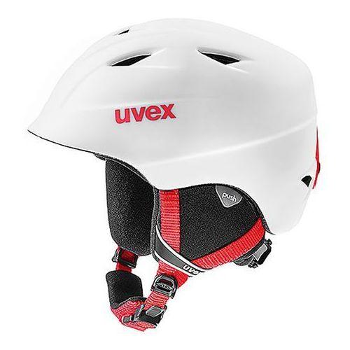 Dziecięcy kask narciarski airwing 2 pro biały s (52-54cm) marki Uvex