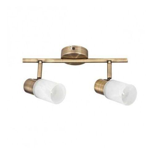 Listwa lampa oprawa sufitowa Spot Light Kira 2x40W E14 patyna 2220211 (5907500158949)
