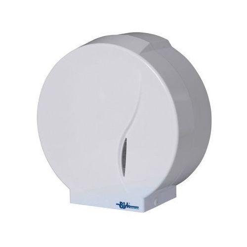 Pojemnik na papier toaletowy JUMBO biały
