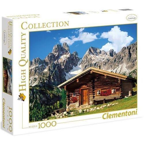 Clementoni Puzzle  high quality collection 39297 austria: domek w górach (1000 elementów)