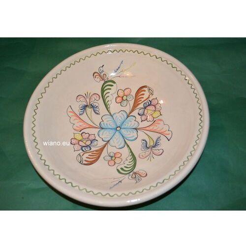 Twórca ludowy Garncarstwo - ceramika bolimowska - półmisek duży, śred. 29 cm