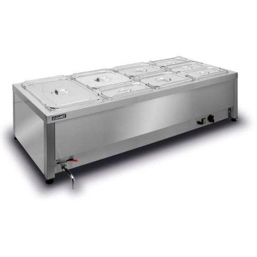 Bemar elektryczny stołowy 4xGN 1/1 200 mm LOZAMET BSW.4GN
