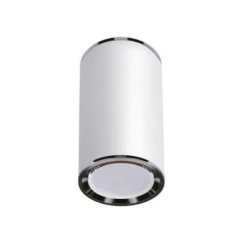 Downlight LAMPA sufitowa MEGAN 03657 Ideus metalowa OPRAWA natynkowa tuba spot biała, 03657