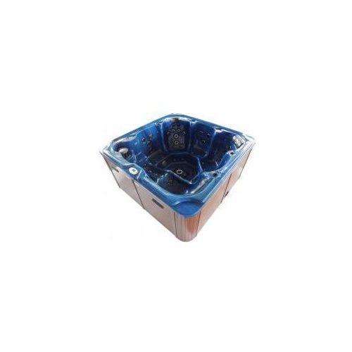 Basen ogrodowy spa jacuzzi - model oasis maxi, niebieski spa13 marki Sanotechnik