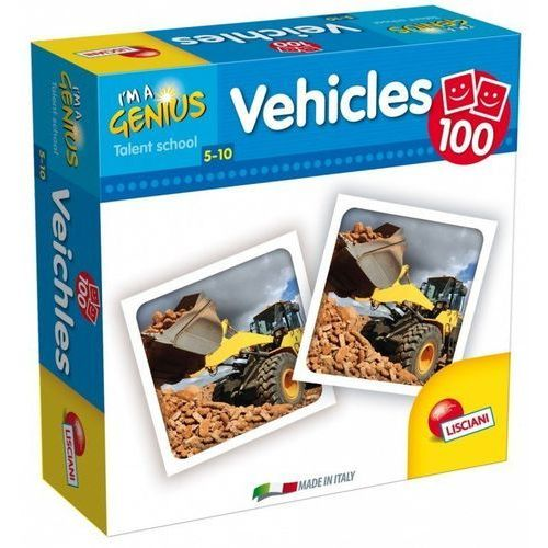 I'm a Genius Memoria 100 Vehicles -