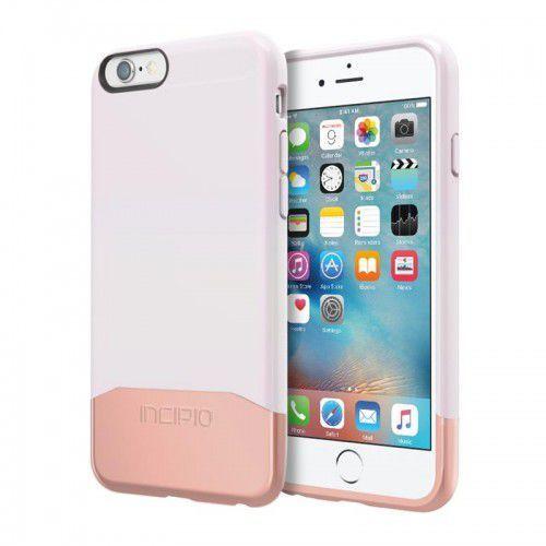 Incipio EDGE Chrome Case - Etui iPhone 6s / iPhone 6 (Iridescent White/Rose Gold), kolor biały