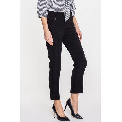 Czarne spodnie w kant - marki Far far fashion