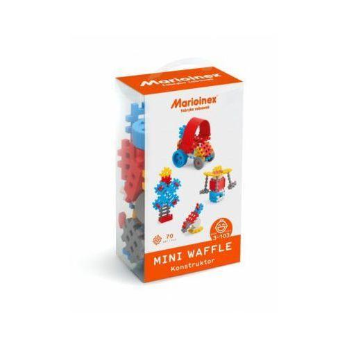 Marioinex Klocki waffle mini 70 sztuk chłopiec - DARMOWA DOSTAWA OD 199 ZŁ!!!