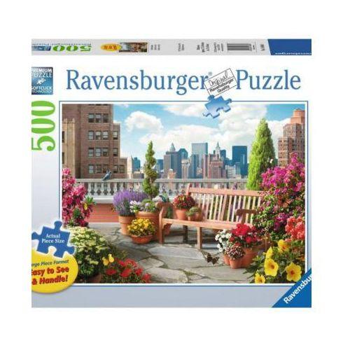 Ravensburger 500 elementów ogród na dachu