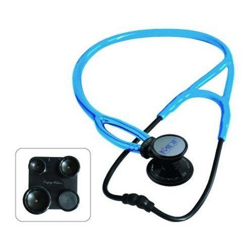 Stetoskop kardiologiczny  procardial era 797x lekki 6w1 - czarno-niebieski marki Mdf