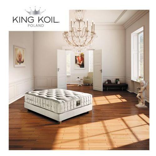 Materac CLEMENTINE KING KOIL kieszeniowo-piankowy: Rozmiar - 200x200