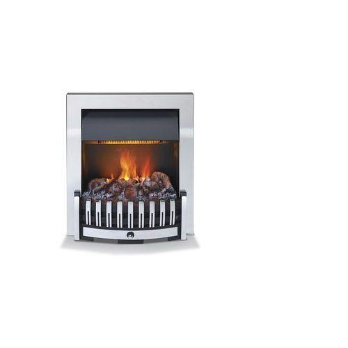 Wkład kominkowy, do zabudowy, danville - chrom + dodatkowy rabat + syntetyzator dzwięku gratis marki Dimplex - najlepsze ceny