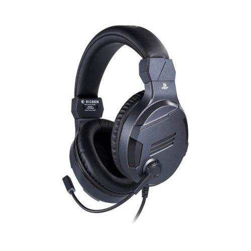 Zestaw słuchawkowy titan v3 black gaming headset marki Big ben