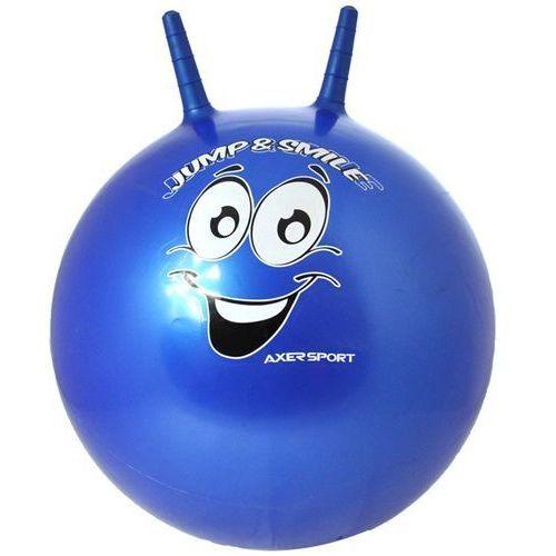 Axer sport Piłka skacząca 55 cm niebieski + zamów z dostawą jutro!
